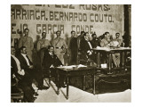 Venustiano Carranza at the Queretaro Convention, December 1917 Giclee Print by Thompson