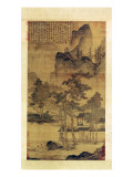 Scenes of Hermits' Long Days in the Quiet Mountains Giclée-Druck von T'ang Yin