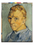 Self Portrait Without Beard, 1889 Giclee Print by Vincent van Gogh