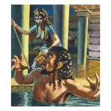 The Murder of King Agamemnon by His Faithless Wife, Clytemnestra Giclee Print by  Payne