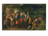 Christ in the Garden of Gethsemane Premium Giclee Print by Hans Jordaens III