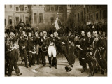 Napoleon's Farewell to His Generals at Fontainbleau, 1814 Giclee Print by Horace Vernet