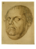 Posthumous Portrait, Martin Luther, 1546 Giclee Print by Lucas Fortenagl