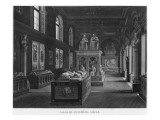 The 15th Century Room, Musee Des Monuments Francais, Paris Giclee Print by Jean Lubin Vauzelle