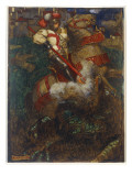 St. George Slaying the Dragon, 1908 Giclee Print by John Byam Shaw