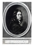 Self-Portrait, Engraved by John Fillian, C.1658-70 Giclee Print by William Faithorne