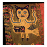 Woollen Figure of a Jaguar, Paracas Culture, C.1500 Bc Giclee Print by Peruvian School