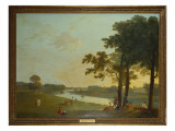 Syon House from Richmond Gardens Reproduction procédé giclée par Richard Wilson