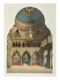 Design for the Entrance Hall to Wilhelma, 1837 Giclee Print by Karl Ludwig Wilhelm Zanth