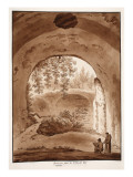 Reservoir for Domitian's Villa, 1833 Giclee Print by Agostino Tofanelli