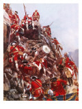 Scaling of the Heights of Abraham Giclee Print by Richard Caton Woodville