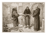Reception of Lanfranc by Herlwin Giclee Print by Edouard Zier