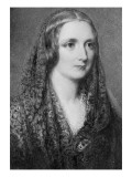 Mary Shelley, an Idealised Portrait Created after Her Death Giclee Print by Reginald Easton