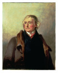 Portrait of Thomas Jefferson, 1856 Giclee Print by Thomas Sully