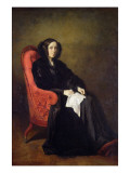 Portrait of Madame Poullain-Dumesnil, 1842 Giclee Print by Thomas Couture