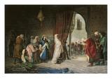Salida Del Boabdil, at the Alhambra Giclee Print by Manuel Gomez Moreno y Gonzalez