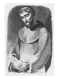 Abelard as Monk at Saint-Gildas-De-Rhuys Giclee Print by Jean Francois Gigoux