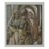 Simon the Cyrenian and His Two Sons Alexander and Rufus Giclee Print by James Tissot