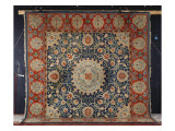 A Rare 'swan-House' Hammersmith Hand-Knotted Carpet, Morris and Co. , C.1890 Reproduction procédé giclée par Morris