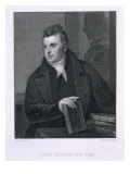 David Hosack, Engraved by Asher Brown Durand Giclee Print by Thomas Sully