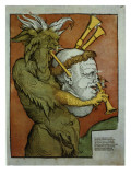 Luther as the Devil's Bagpipes, C.1535 Giclee Print by Eduard Schoen