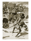 The Battle of Abu-Klea, January 17Th, 1885 Giclee Print by Stanley L. Wood