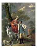 Mr. and Mrs. Thomas Coltman, C.1770-72 Giclee Print by Joseph Wright of Derby