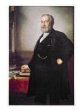 President Benjamin Harrison Giclee Print by  American School