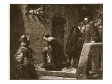 Lord Strafford on the Way to Execution Giclee Print by Hippolyte Delaroche