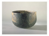 Vessel with a Ribbon-Style Decoration, Danubian Neolithic Giclee Print by  Prehistoric
