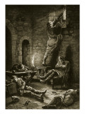 The Escape of Ralph Flambard from the Tower Giclee Print by Henry Payne