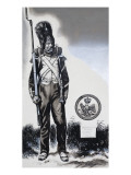 Soldier in Uniform of the Imperial Guard Giclee Print by Gerry Embleton