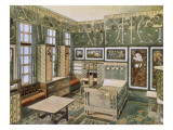 Nursery Designed by Will Bradley in His House in Concord, Massachusetts Giclee Print