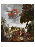 The Conversion of St. Augustine, C.1663 Giclee Print by Gerard De Lairesse