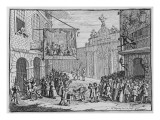 Masquerades and Operas, Burlington Gate, 1724 Giclee Print by William Hogarth