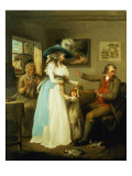 The Story of Laetitia: 'The Virtuous Parent' Giclee Print by Morland