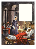 When They Were Young: Florence Nightingale Giclee Print by Peter Jackson