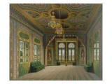 Design for a Reception Room with Chinese Pots, 1837 Giclee Print by Karl Ludwig Wilhelm Zanth