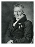 Hans Christian Orsted, Engraved by Kaufmann Premium Giclee Print by  Jensen