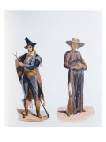 Costumes of the Inhabitants of Mexico and Vera Cruz Giclee Print by  German School