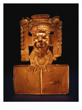 Pectoral of the God Xipe Totec Giclee Print by Mixtec