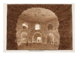 Interior of the Temple of the Cough, 1833 Giclee Print by Agostino Tofanelli