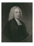 James Bradley, Engraved by Edward Scriven Giclee Print by Thomas Hudson