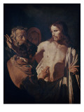 The Incredulity of Saint Thomas, C.1620 Lámina giclée por Gerrit van Honthorst