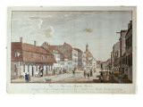 View of Mauer Strasse, Berlin, 1776 Giclee Print by Rosenberg 