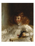 Portrait of Leroy King as a Young Boy, 1888 Giclee Print by John Singer Sargent