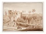 Hermitage of Madonna Della Stella, 1833 Giclee Print by Agostino Tofanelli