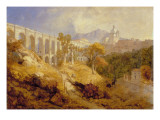 The Aqueduct at Arricia, Near Rome, 1866 Giclee Print by James Baker Pyne