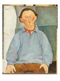 Portrait of Oscar Miestchanioff, C.1916 Giclee Print by Amedeo Modigliani