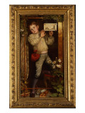 Master Hilary - the Tracer, 1886 Giclee Print by William Holman Hunt